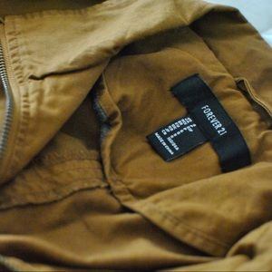 F21 • Brown Utility Jacket